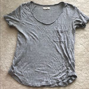 Madewell basic gray tee shirt small